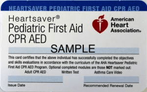 American Heart Association - Signed up for Wrong Class