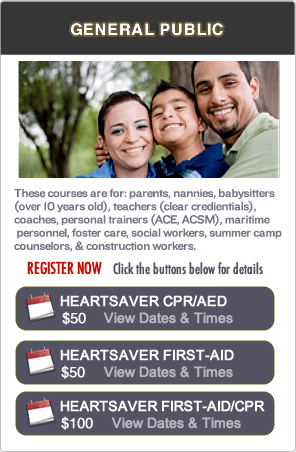 Bay Area CPR & First-aid Classes