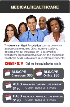 Bay Area AHA BLS CPR classes