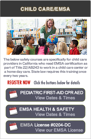 Bay Area EMSA Pediatric First-aid